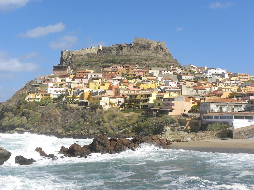 Castelsardo met middeleeuwse burcht